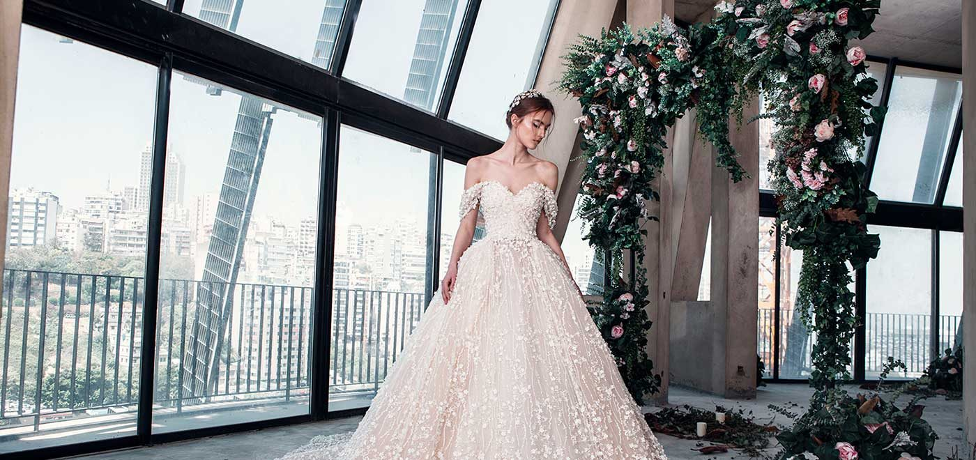 Tony Ward - La Mariee Collection Exclusive UK Trunk Show
